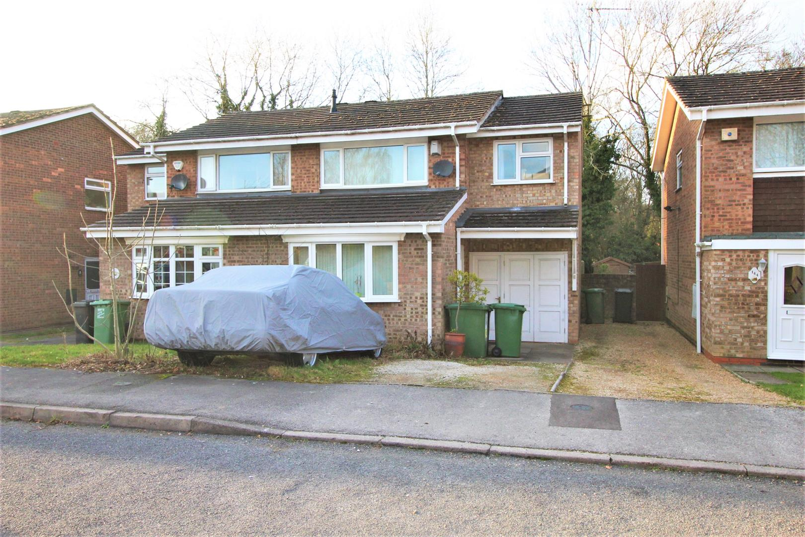 4 Bedrooms Semi Detached House for sale in Donnington Close, Churchill, Redditch
